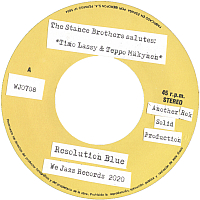 "STANCE BROTHERS: Resolution Blue/Where is Resolut (7"")"